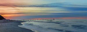strand bansin sonne
